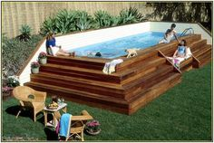 Image result for above ground pools rectangular