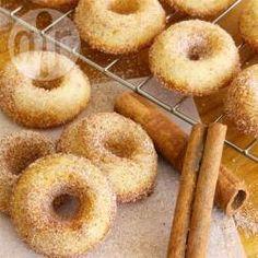 Photo de recette : Petits beignes cuits au four