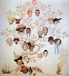 Family Tree by Norman Rockwell