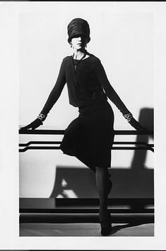 Coco Chanel's 'Ford Dress' 1926    The original 'Little Black Dress'