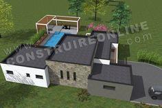 ForumConstruire.com Vous Propose 391 Plans De Maison à · Container Houses PanneSurface HabitableAvignonPlain ...