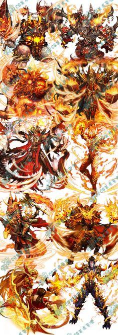 426 游戏美术资源 韩国手游五魂全套U...@good~猫宁采集到游戏原画Q版写实角色横版地图日韩中国风(224图)_花瓣游戏