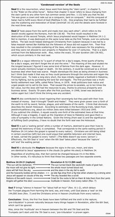 End Times Signs- Rapture Prophecy- Timelines Explained Revelation Bible Study, Bible Study Notebook, Scripture Study, Jesus Bible, Bible Scriptures, Bible End Times, End Times Signs, End Times Prophecy