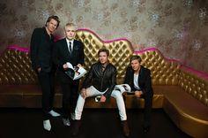"""duranduranofficial:  """"We've always got stuff going on,"""" keyboardist Nick Rhodes tells Billboard http://duran.io/1PJoBTf"""