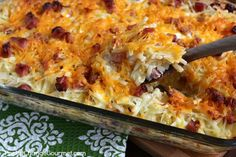 Hashbrown Casserole with Ham Trying this with southwest style hash browns