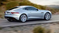 "New 2015 F-TYPE Coupe from luxury carmaker Jaguar goes on sale in May. Jaguar celebrates the new luxury sedan with a film titled - ""The Art of Villainy"". Ferrari 458, Lamborghini Aventador, Audi R8, Cool Sports Cars, Sport Cars, Nice Cars, Jaguar Usa, Jaguar Cars, New Jaguar F Type"