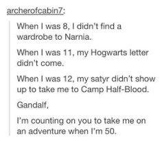 Come on, Gandalf!