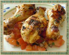 Piri-Piri Chicken Salsa Picante, Spicy Salsa, Vegetable Side Dishes, Fresh Ginger, Tandoori Chicken, Entrees, Food Processor Recipes, Chicken Recipes