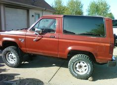 Image result for 1987 ford bronco ii paint jobs
