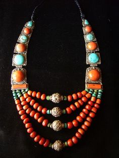 Mongolian necklace  