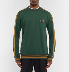 Dolce & Gabbana - Braided Loopback Cotton-Jersey Sweatshirt