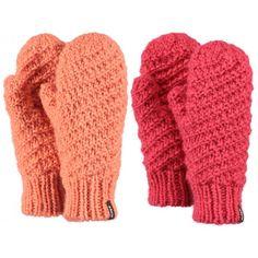 Vrolijk gekleurde wanten van #Barts de Chani wanten voor dames. Houden de handen heerlijk warm en zijn met de hand gebreid.