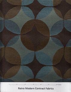 Maharam Upholstery Fabric  Venn Delta Retro Modern 50kDR $126 Value AY4