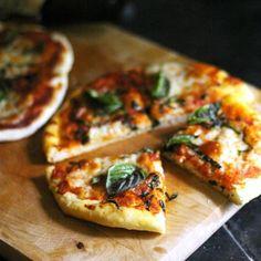 Pizza Dough III Recipe | Allrecipes Spelt Pizza Dough Recipe, Easy Pizza Dough, Mozzarella, Tapas, Whole Wheat Pizza, Quick Recipes, Easy Meals, Cooking, Pizza