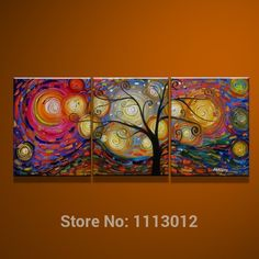 Abstract Art Painting, 3 Piece Canvas Art, Tree of Life Painting, Canvas Painting, Large Group Painting - Art Painting Canvas Textured Wall Art, Hand Painting Art, Wall Art Painting, Painting, Art Paintings For Sale, Tree Of Life Painting, 3 Piece Canvas Art, Canvas Paintings For Sale, Large Canvas Painting