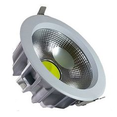 V-TAC LED Downlight 30W COB Reflector White Body - 4500K