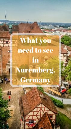 What you need to see in Nuremberg Germany. As with many of the small villages located in Germany and on the Romantic Road, people tend to spend more time passing through them then they do enjoying them. Click to read the full travel blog post about what you need to see in Nuremberg Germany. http://www.divergenttravelers.com/2-days-in-nuremberg-germany/