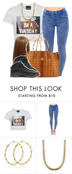 """""""House party-Cecelia"""" by trillest-queen ❤ liked on Polyvore featuring Untitled & Co, MCM and Drakes London"""