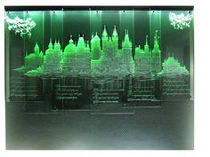 панно состоит из 6 стекол,общий размер 3000 х 1700 мм, диод подсветка в верхней части композиции. Drilling Glass, Glass Art, Aquarium, Fish Stand, Aquarius, Fish Tank, Fishbowl