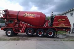 Types Of Concrete, Mixer Truck, Manchester Nh, Concrete Mixers, Custom Trucks, Classic Trucks, Big Trucks, Rigs, Cement