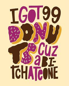 99 Donuts by Jay Roeder, via Flickr