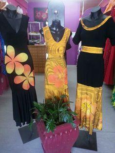 Kara's Samoan Designs, Polynesian Designs, Island Wear, Island Outfit, Samoan Women, Samoan Dress, Different Dress Styles, Hawaiian Fashion, Dress Attire