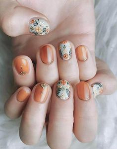 50 Trendy Fall Nail Art Design For 2019