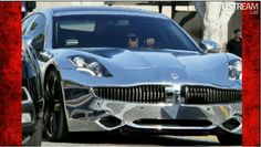 Justin Biebers tricked out car