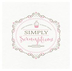 $21 Whismical Ornate Luxury Bakery Logo and business card design-  by cookiesandcreamshop