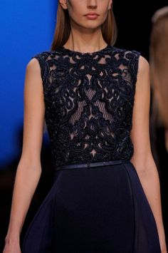 Elie Saab Clp RF13 8207 - winter 2014 collection // claradeparis.com ♥