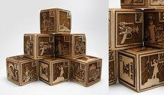 Mad Scientist's First Alphabet Blocks — ACCESSORIES -- Better Living Through Design
