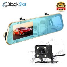 1080P Full HD Car Video Recorder Mirror Dash Cam Rearview Mirror Cam #isYoung