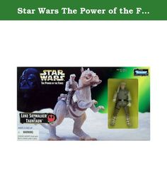 Star Wars The Power of the Force Action Figure - Luke Skywalker and Tauntaun by Kenner. What's Included? (1) New/Sealed Star Wars Special Edition Luke Skywalker and TaunTaun action figure play set. Specs: Brand: Star Wars Manufacturer: Hasbro/Kenner Series: The Power of the Force Edition: The Star Wars Trilogy Special Edition Version/Variation: N/A Circa Year: 1997 UPC: 076281697291 MPN: 68645-69729 Condition: New/Sealed in box - The box has some shelf-wear such as bent corners or small…
