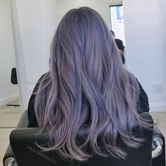 Dawon's hair colour Pretty Hair Color, Hair Color Purple, Hair Color And Cut, Hair Dye Colors, Violet Hair, Lilac Hair, Korean Hair Color, Hight Light, Ulzzang Hair