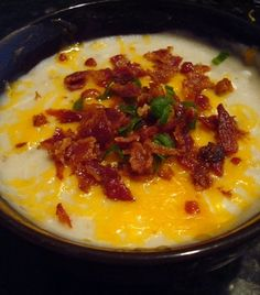 Baked Potato Soup - Slow Cooker Style