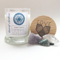 Throat Chakra Candle-Meditation Candle-Yoga Candle-Communication-Healing Candle-Chakra Cleansing