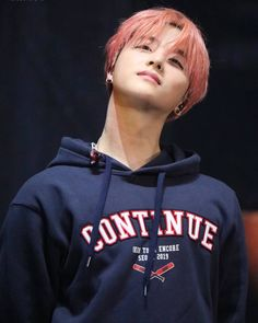 I miss the pink haired fairy 😍 Kim Jinhwan, Chanwoo Ikon, Bobby, Ikon Leader, Jay Song, Ikon Kpop, Ikon Debut, Ikon Wallpaper, Fandom