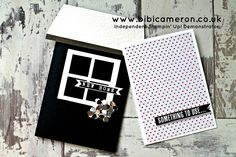 """Learn in 1 1/2 minutes how to use your 1""""square punch to create window pattern for cards, envelopes or any other paper craft project. The rest of the video i..."""