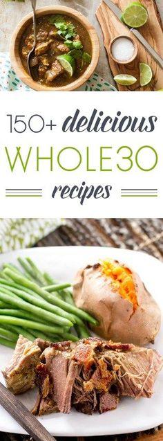 150 delicious Whole30 recipes | http://RaiasRecipes.com