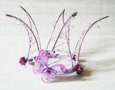 Design your own Wire and crystal crown - Made to Order - handmade cake topper or head piece