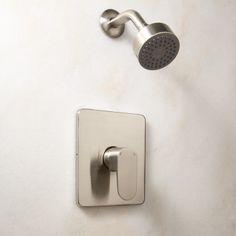 Vantage Shower Set with Lever Handle - Satin Nickel