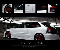White, Red and Black. The colors of my life!! I really like those tail lights also!