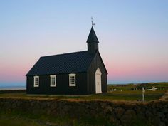 Búðir (a small and cozy church in Iceland)