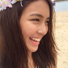 22 Gorgeous Celebs Without Makeup - Star Style PH Teen Celebrities, Beautiful Celebrities, Kathryn Bernardo Outfits, Celebs Without Makeup, Filipina Actress, Celebrity Stars, Child Actresses, Her Smile, Ulzzang Girl