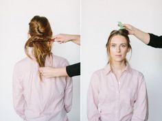 #Tutoriales de peinado inspirados en las Princesas #Disney ¿Cómo hacerse la cola de caballo de Bella? #DIY #hairstyle #peinados