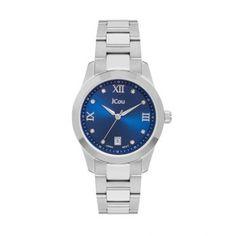 Γυναικείο οικονομικό ρολόι JCou JU17065-6 Pearl με ημερομηνία e6c78b61a94