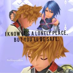 Aqua leaves sleeping Ventus in Castle Oblivion. I am interested to see how his heart will be returned to him, but obviously they need to rescue Aqua from the Realm of Darkness first so they can find him!