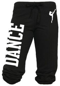 Juniors Dance Capri Sweats S-L