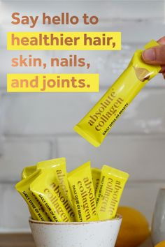 Infused with Vitamin C and protein, Absolute Collagen will become your body's new BFF INTROCLEANSER™ Premium Blackhead Remover Diy Beauty, Beauty Skin, Beauty Hacks, Beauty Makeup, Bff, Diy Skin Care, Skin Care Tips, Vitamin C, Collagen Drink