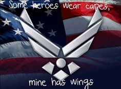 Some heroes wear capes mine has wings!